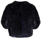 Diane von Furstenberg Kim fur jacket