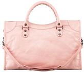 Balenciaga Classic City Bag, Rose Peche