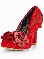 Irregular Choice Peach Melba rose court