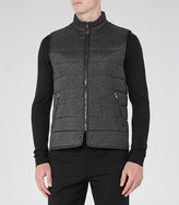 Reiss Mortimer Quilted Gilet