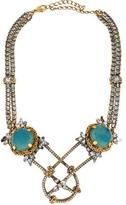 Erickson Beamon Crystal Double Strand Collar Necklace