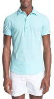 Orlebar Brown Men's 'Sebastian' Cotton Pique Polo