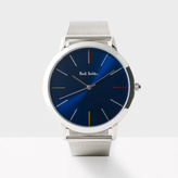 Paul Smith Men's Navy And Silver 'Ma' Watch