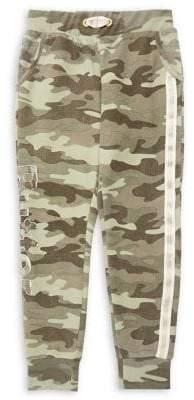 Butter Shoes Little Girl's & Girl's Cotton-Blend Fleece Jogger Pants