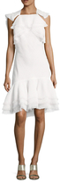 Jason Wu Textured Gauze Dropped Waist Dress