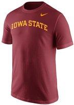 Nike Men's Iowa State Cyclones Wordmark Short-Sleeve Tee
