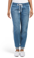 Juniors French Terry Denim Joggers