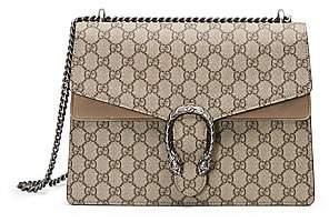 Gucci Women's Dionysus GG Supreme Medium Canvas Shoulder Bag
