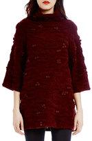 Raoul Camo Plush 3/4-Sleeve Sweater
