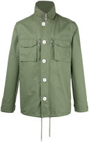 Han Kjobenhavn roll neck shirt jacket - men - Cotton - XL