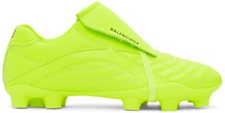 Balenciaga Yellow Soccer Sneakers