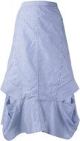 Chalayan A line frill skirt - women - Cotton - 40