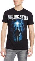 Hybrid Men's Falling Skieslogo Short Sleeve Tee