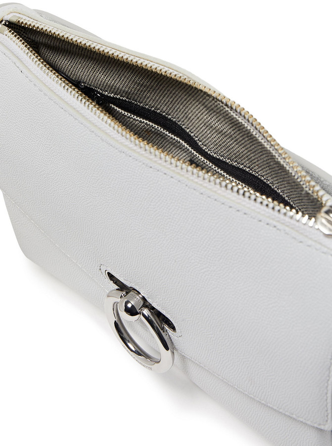 Thumbnail for your product : Rebecca Minkoff Jean Textured-leather Shoulder Bag