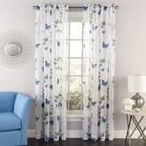 Lorraine Home Fashions 06042-72-00003 Butterflies Tailored Window Curtain Panel