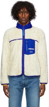 Ambush Off-White Eco-Fur Jacket