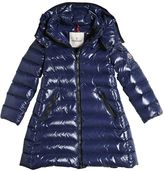 Moncler Moka Laquè Nylon Down Coat