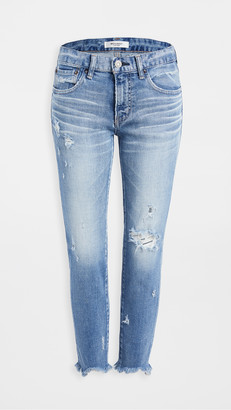 Moussy MV Glendele Skinny Jeans Light Blue