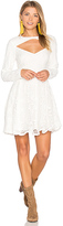 MinkPink Heart of Glass Dress in White. - size L (also in M,S,XS)