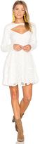 MinkPink Heart of Glass Dress in White