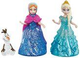 Mattel Disney Frozen Anna, Elsa & Olaf Magiclip Doll Set by