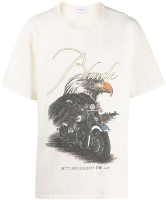 Rhude Eagle Dream print T-shirt