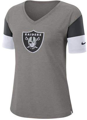 Nike Women Oakland Raiders Tri-Fan T-Shirt
