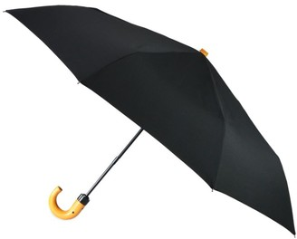 Saks Fifth Avenue Three-Section Automatic Umbrella