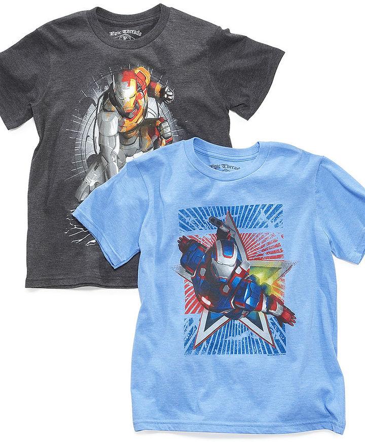 Iron Man Epic Threads Kids T-Shirt, Boys Star Tee