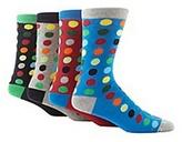Red Herring Pack Of Four Black Spotted Socks