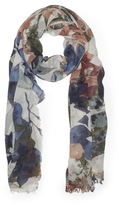 Vince Camuto Fall Floral Scarf