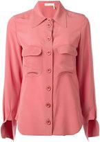 Chloé cuff slit blouse