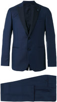 Lardini slim-fit suit - men - Silk/Cupro/Viscose/Wool - 46