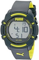 Puma Unisex PU911221003 Bytes Digital Display Analog Quartz Grey Watch