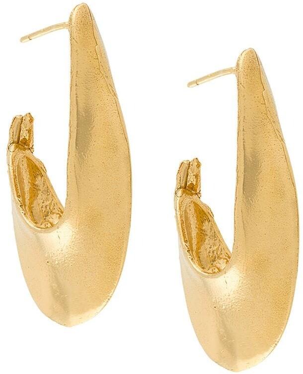 Push Back Stopper Earrings