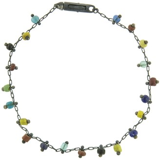 Ten Thousand Things Black Ancient Bead Bracelet - Sterling Silver