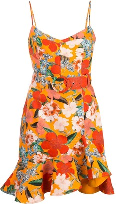 Nicholas floral shift dress