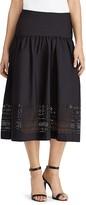 Lauren Ralph Lauren Laser-Cut Skirt