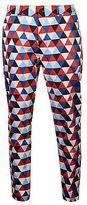 Slazenger Mens Funky Golf Trousers Pants Bottoms Zip Graphic Design Standard Fit