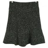 Junya Watanabe Green Wool Skirt for Women