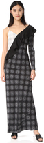Diane von Furstenberg Asymmetrical Dress