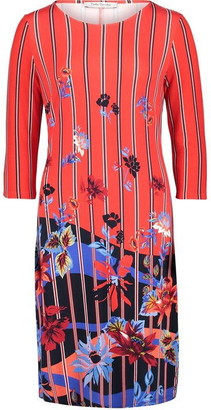 Betty Barclay Floral And Stripe Print Dress