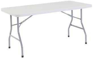 National Public Seating Commercial Grade Plastic folding table 30 x 60 (4 pack) 1,000lb. weight capacity