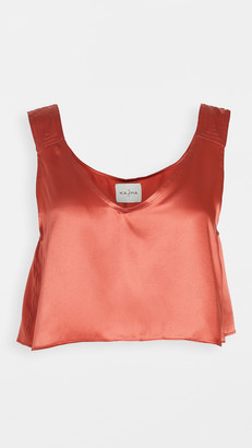 Le Kasha Silk Kuga Top