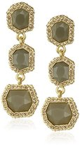 Vince Camuto 3-Part Stone Drop Earrings