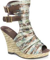 Muk Luks Sage Wedge Sandal - Women's