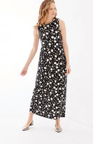 J. Jill Shirred-Waist Knit Maxi Dress