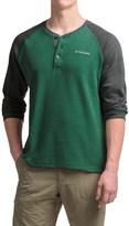 Columbia Thomas Meadows Henley Shirt - Long Sleeve (For Men)