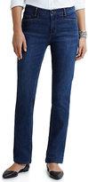 J. Jill Smooth-Fit Straight-Leg Jeans