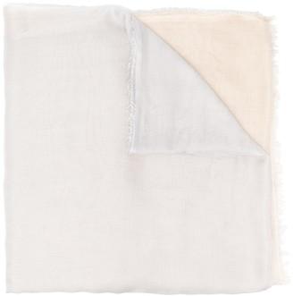 Faliero Sarti Ombre Print Silk-Modal Blend Scarf